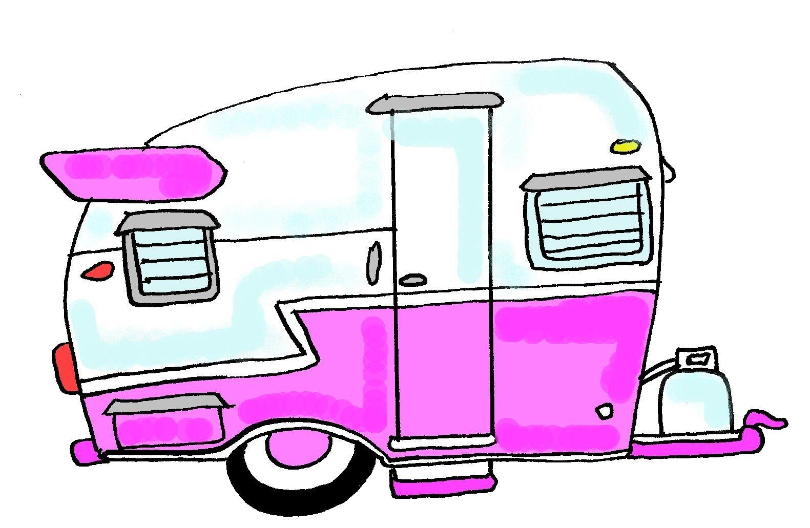 Free Retro Camper Cliparts, Download Free Clip Art, Free.