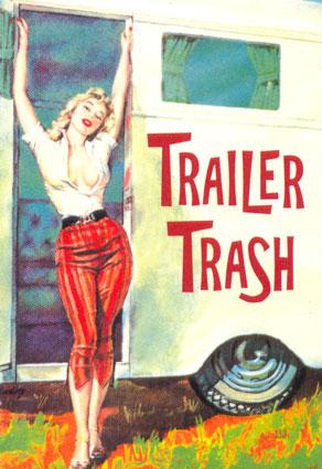 Trailer trash clipart.