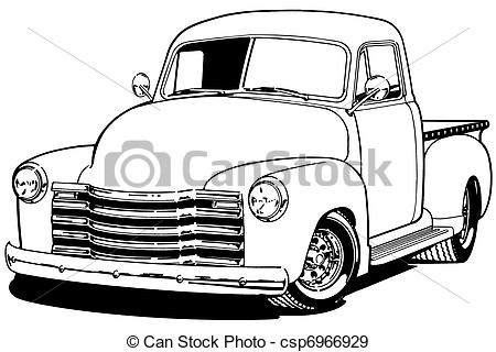 chevy pickup clipart