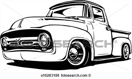 Vintage Truck Vector at GetDrawings.com.