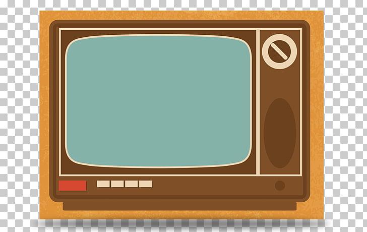 Television set Vintage TV, Vintage TV PNG clipart.