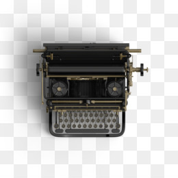 Typewriter PNG.