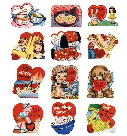 Vintage Valentine Clip Art Car Pictures 8G4r6j Clipart.