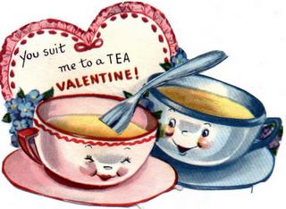 Free Vintage Valentines Clip Art! So cute!.