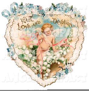 Vintage Valentine Clipart.