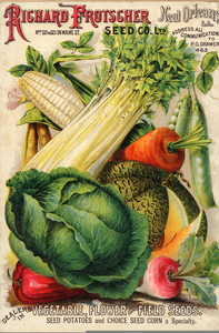 Free Clipart Vintage Seed Packets.