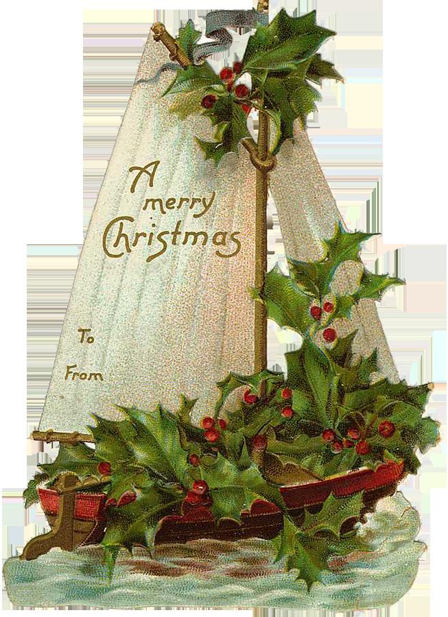 Free Vintage Christmas Gift Tags.