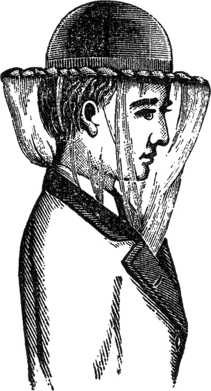 3057 Victorian free clipart.