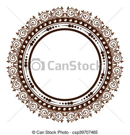 vintage victorian frame.