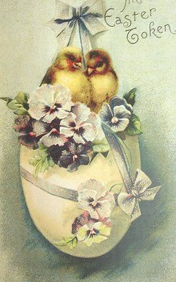 Sugar Moon: Free Vintage Victorian Easter Graphics Clipart.