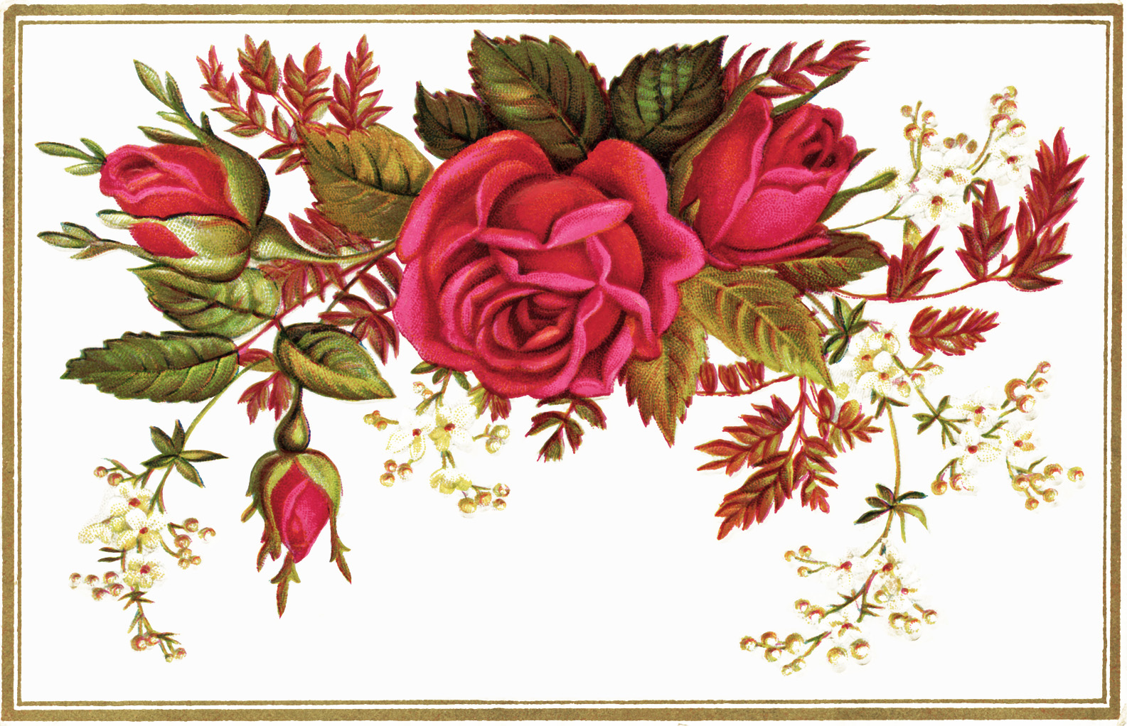 Free Victorian Flowers Cliparts, Download Free Clip Art.