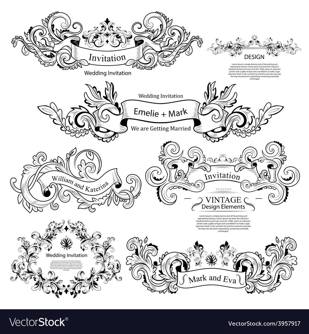 ornaments design.