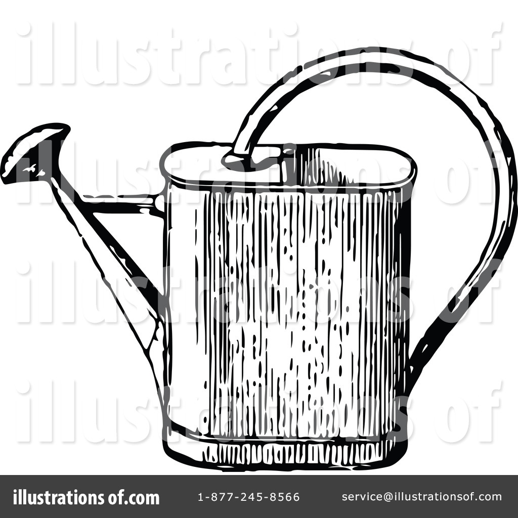 Watering Can Clipart #1116041.