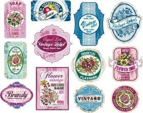 Free Wine Label Cliparts in AI, SVG, EPS or PSD.