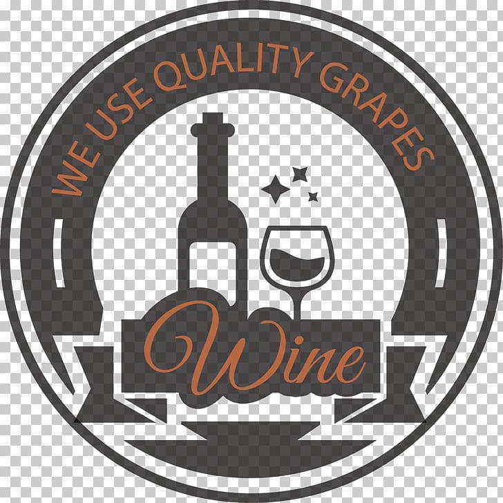 Wine label Logo, Vintage wine label material PNG clipart.