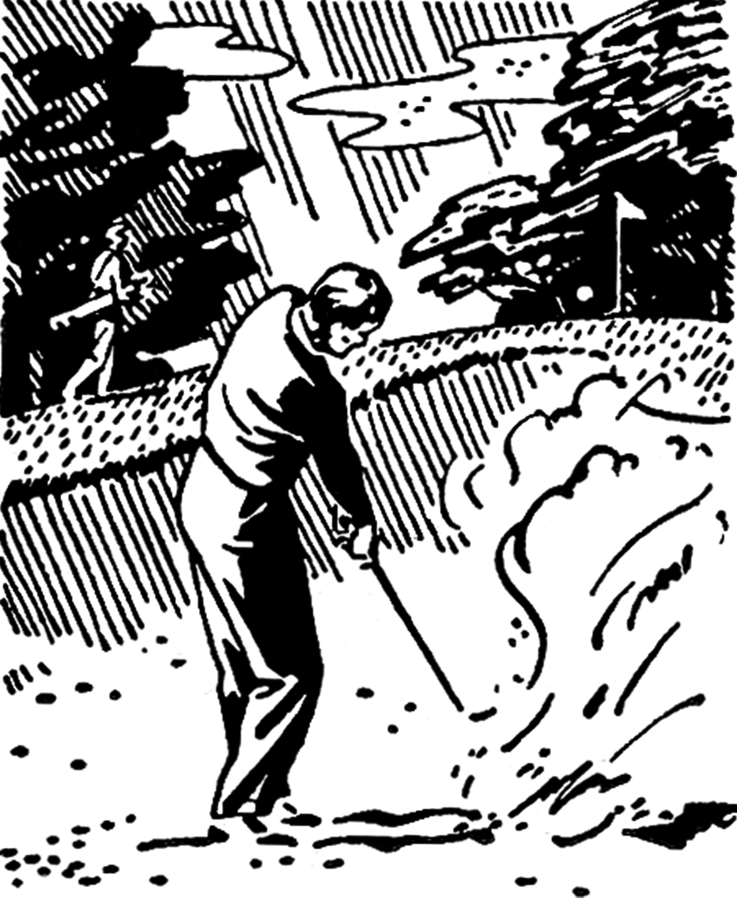 Retro Golf Images.