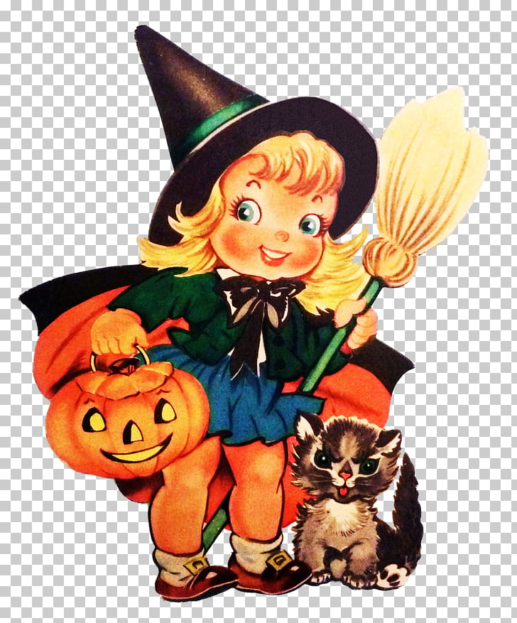 Halloween Party Vintage clothing Holiday Witchcraft, trick.