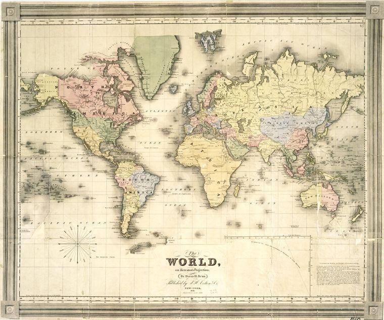 Vintage Maps 36 ….
