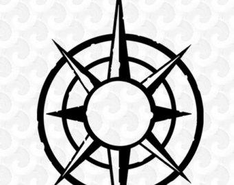 Map Compass Clipart.