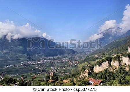 Stock Bilder von Tirol, vinschgau, süden.