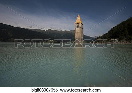 "Stock Image of ""Church tower of Alt."
