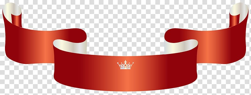Minecraft Vinyl banners Crown Trophy, Red Banner with Crown.