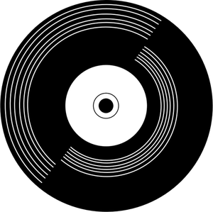 144 vinyl record clipart free.