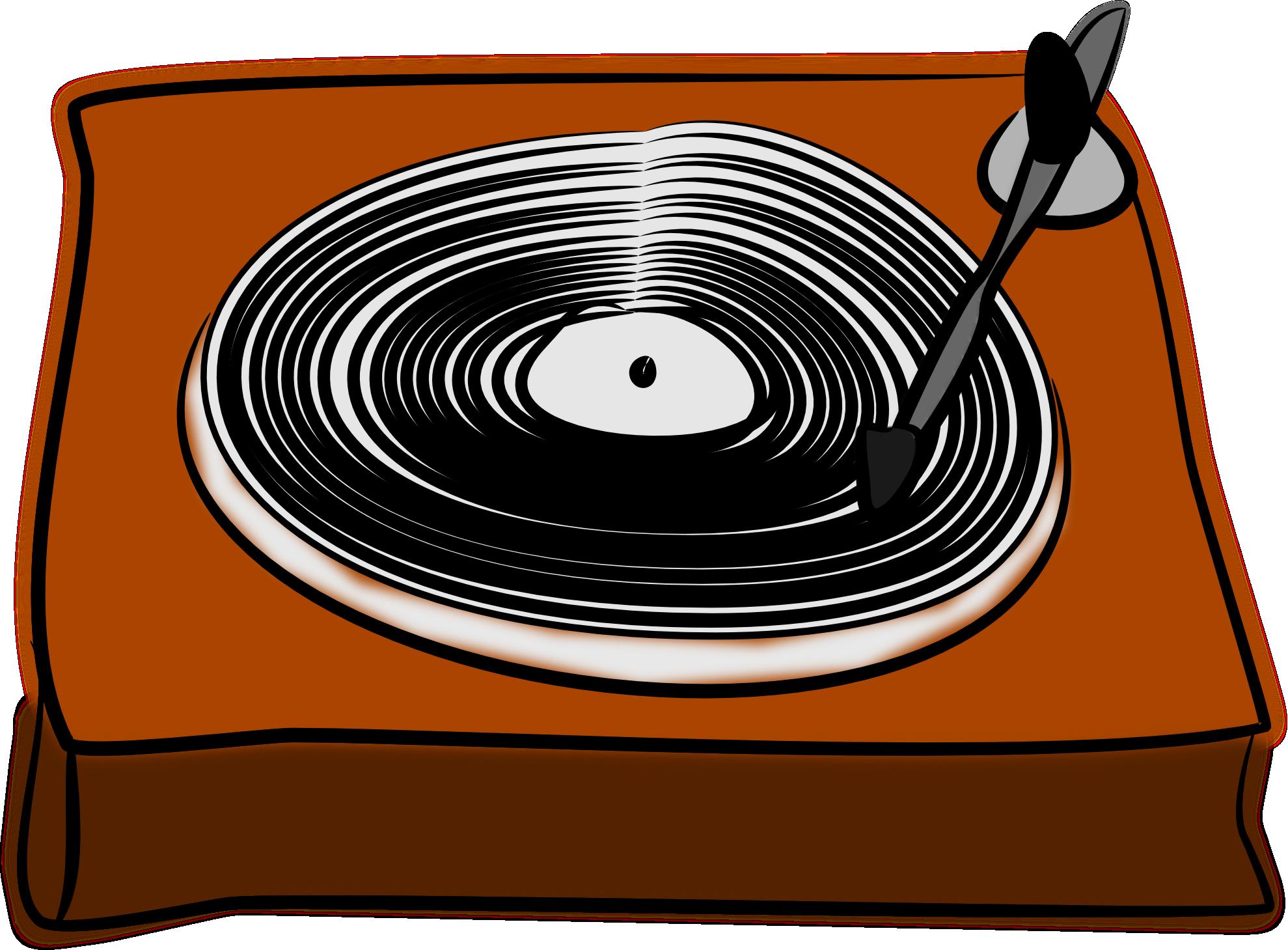 Vinyl Lp Records Clipart.