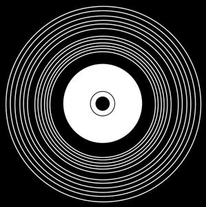 118 vinyl record clipart free.