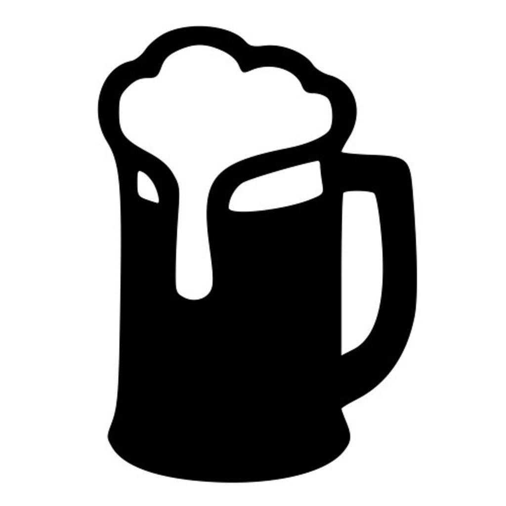 Keen Beer Mug Vinyl Cut Decal.