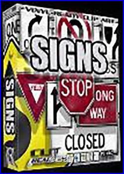 SIGN VECTOR CLIP ART FOR SIGNS VINYL CUTTER PLOTTER SOFTWARE.