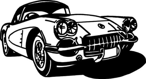 Rods N Rides Vehicle Vector Clipart Vinyl Cutter Slgn Design.