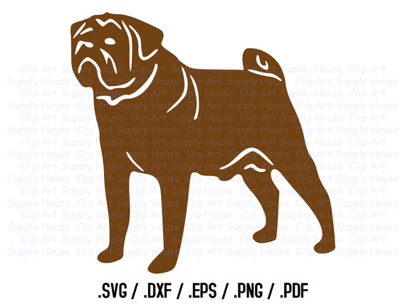 Free Dog Clipart For Vinyl Cutter.