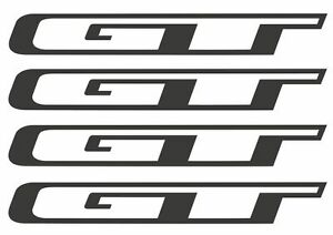 Details about GT Bicycle Frame Stickers Vinyl Logo Decals Graphic Set  Adhesive 4 Pcs.