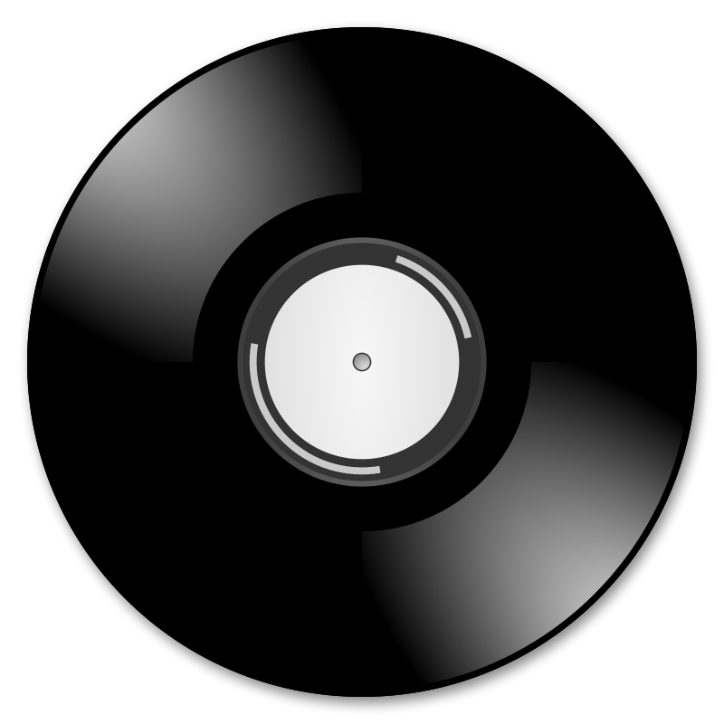 Free Clipart: Vinyl records.