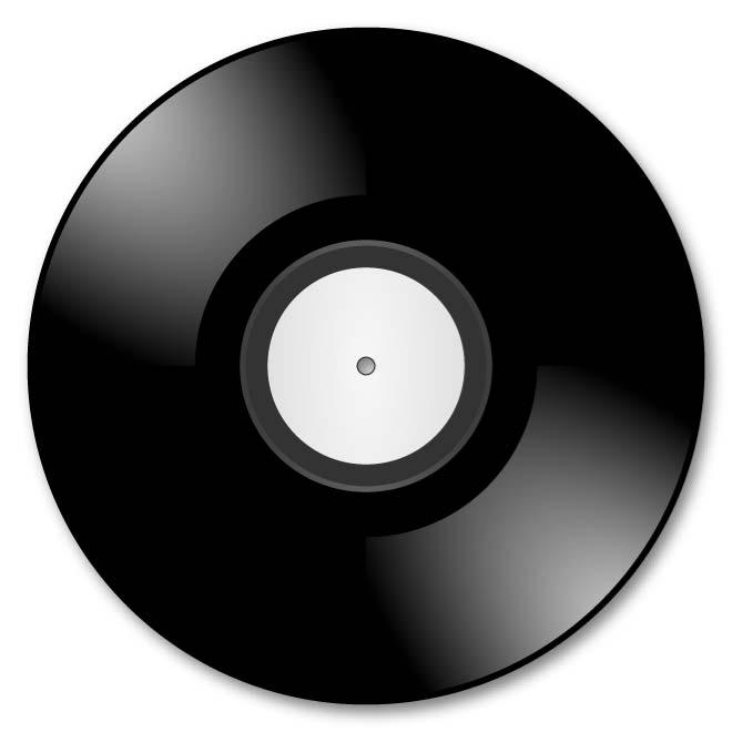 Vinyl record clipart images 5 » Clipart Station.