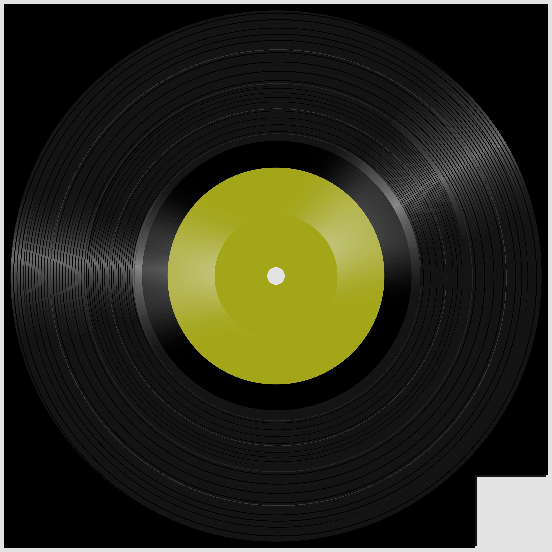 Vinyl Record PNG Clipart.
