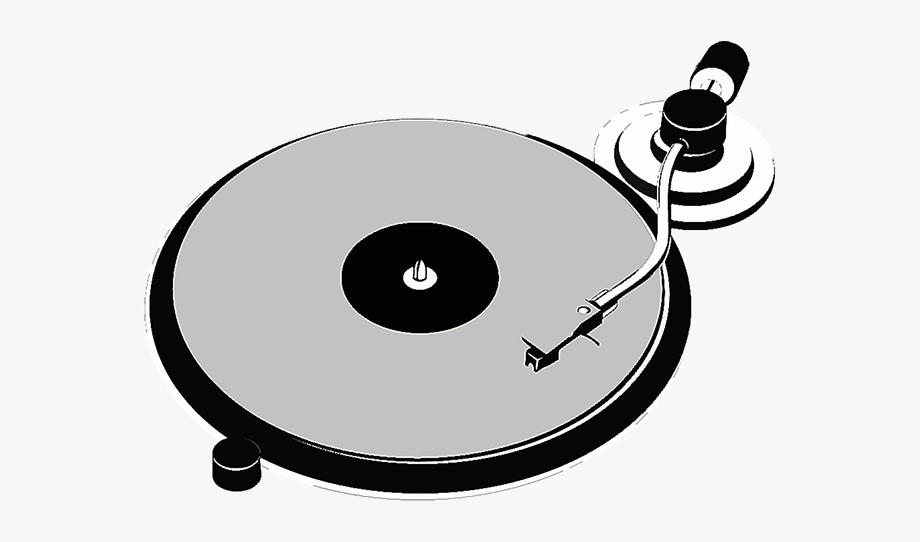 Record Player Vinyl Clipart , Transparent Cartoon, Free.