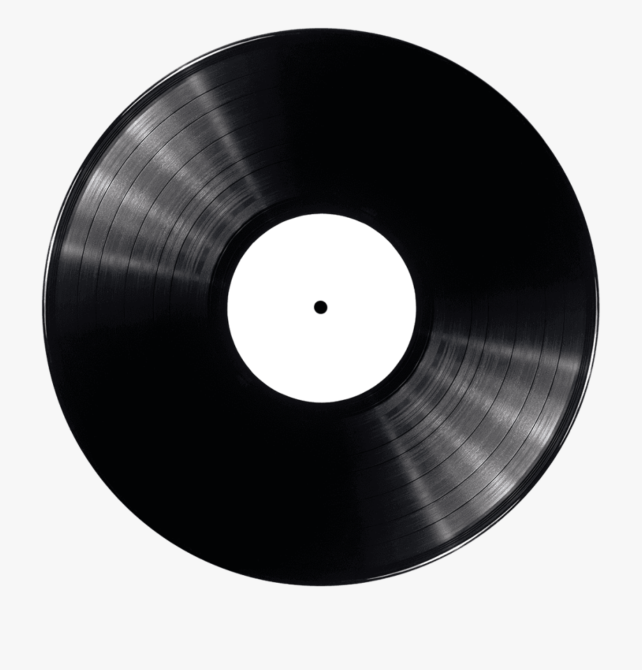 Record clipart plain vinyl, Record plain vinyl Transparent.