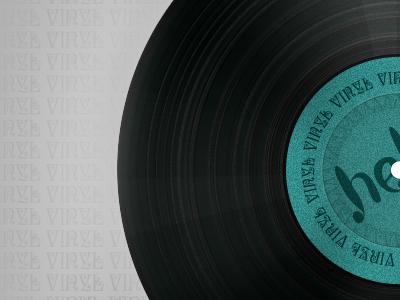 Vinyl Disc.