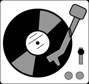 Vinyl lp clipart.