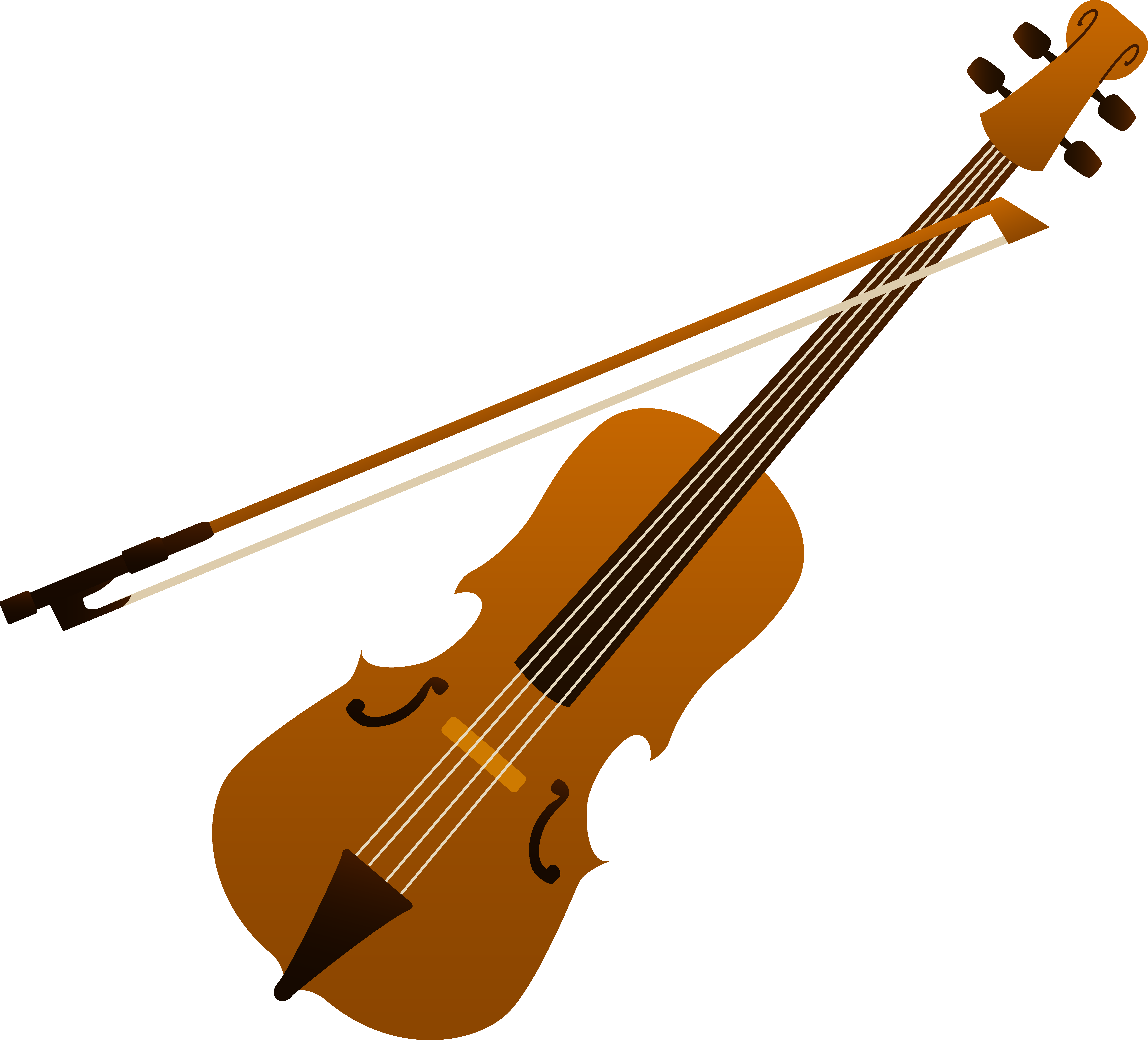 Stringed instruments clipart #19