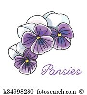 Violaceae Clipart EPS Images. 25 violaceae clip art vector.