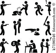 Violence Clip Art and Illustration. 9,506 violence clipart vector.