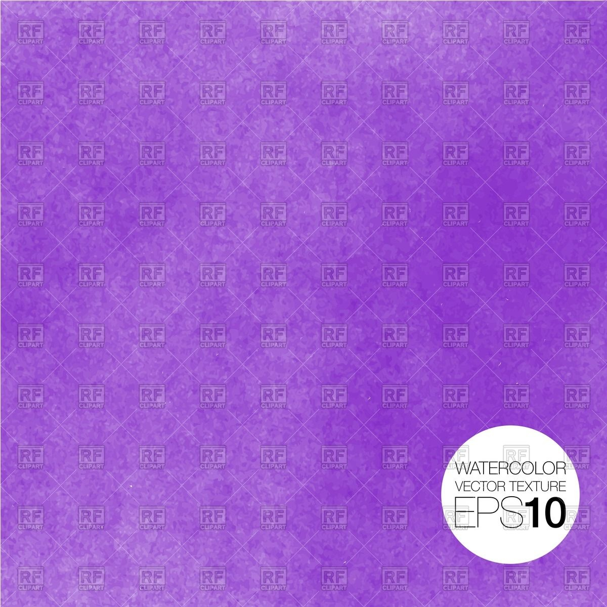 Watercolor violet textured background Vector Image #55956.