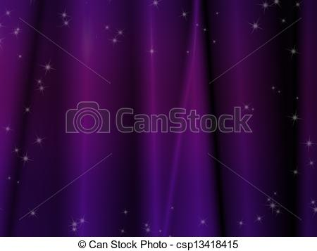 Clipart of Abstract line texture with purple background.