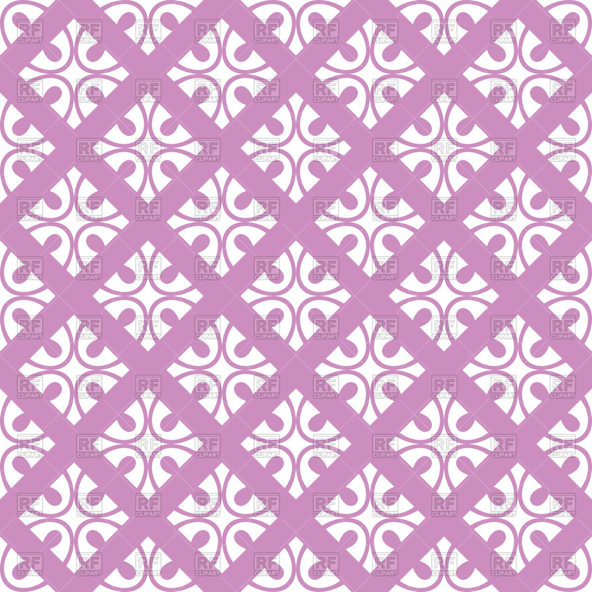 Violet seamless floral ornate wallpaper Vector Image #47245.