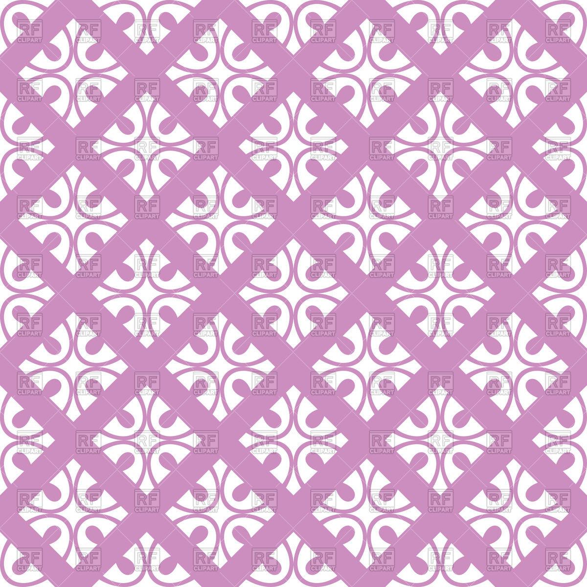 Violet seamless floral ornate wallpaper Vector Image #47245.