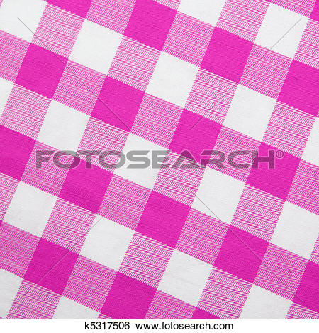 Stock Images of Purple textile gingham background k5317506.