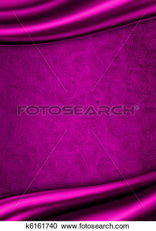 Stock Illustrations of Purple satin fabric background k6161740.